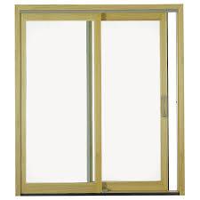 pella 6 proline sliding patio door wood clad 250