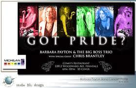 Graphic Designer Detroit Mi Barbara Payton Band Studio Blu Design Jaki Johnsen