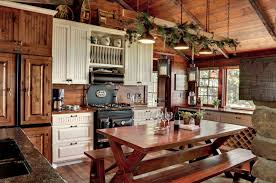 Plain Rustic Country Kitchen Design Michelle Fries Bede Ideas With Decor