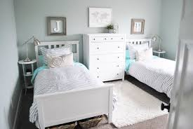 bedroom furniture makeover image19. i still kept the bright blue sheets because love pop of color that screams boys but went for a more neutral bedding saw these organic breton bedroom furniture makeover image19 l