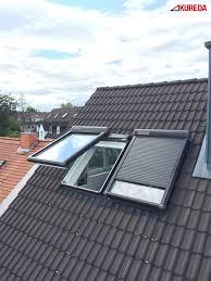 Einbau Sonnenschutz Außenrollladen Für Braas Dachfenster Neue