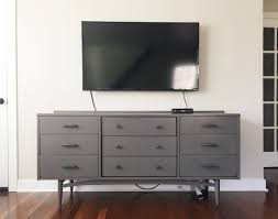 to hide tv wires for a cord free wall