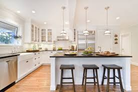 exciting cottage style kitchen lighting decor at stair railings