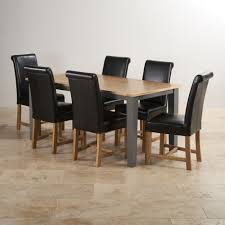 Chairs For Kitchen Table Dining Tables Dine In Style Oak Furniture Land