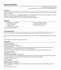 Dredge Operator Sample Resume