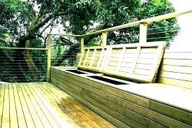 deck storage bench plastic outside storage bench outdoor storage bench for seating deck storage bench seat