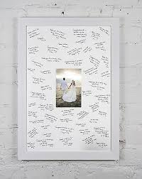 photo guest sign in book personalized wedding guest signing signature frame free gel pen