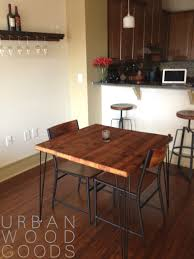 Kitchen Table Reclaimed Wood Small Reclaimed Wood Table With Hairpin Legs For Kitchen Or
