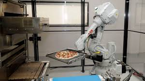 Automated Pizza Maker Vending Machine Interesting Hungry Startup Uses Robots To Grab Slice Of Pizza