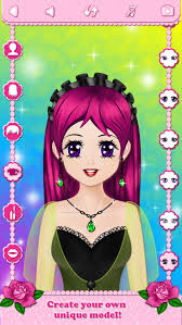 in anime style for android make up makeover dress up star model popstar beauty salon free educational makeup games for s