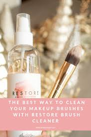 the best way to clean your makeup brushes with re brush cleaner at maskcarabeauty