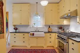 kitchen cabinet colors for small kitchens. View In Gallery Lovely Use Of Yellow A Restrained Shade Kitchen Cabinet Colors For Small Kitchens