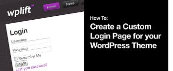 How To: Create a Custom Login Page for your WordPress Theme