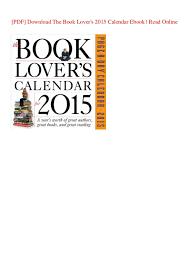 online calendars 2015 pdf download the book lovers 2015 calendar ebook read online