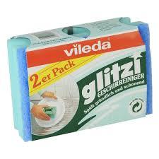 <b>Губка для посуды Vileda</b>, Глитци 2 шт. — купить в интернет ...