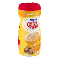 coffee mate hazelnut powder coffee creamer