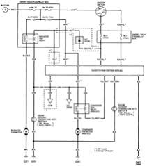 ac controls wiring diagram the 1994 honda accord coupe fan control consists of following parts engine coolant temperature switch radiator fan condenser fan radiator fan control