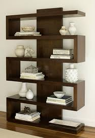 ... Astounding Contemporary Bookshelves Modern Bookcase With Doors Brown  Wooden Books: stunning contemporary bookshelves ...