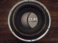 how to hook up audiobahn subwoofers rare audiobahn dub1000 10 subwoofer dual 4 ohm coils 600watt rms