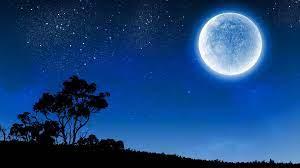 moon full moon #night night sky #starry ...