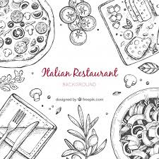 italian restaurant clipart black and white. Unique And Intended Italian Restaurant Clipart Black And White Z