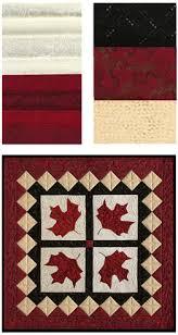 Canadian Maple Leaf (Red Leaves) Fabric Kit | Traditional Quilt ... & Canadian Maple Leaf (Red Leaves) Fabric Kit Adamdwight.com