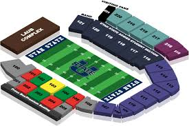 Tamu Football Seating Chart Maverik Stadium Seating Chart Usufans Com
