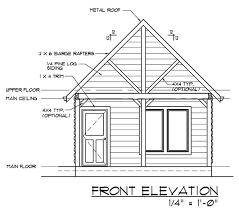 multi roomed small cabin