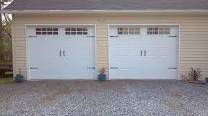 single garage door2 Single Garage Doors with hardware 2  Pineville NC  A Plus