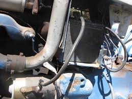 electrical problem ford cyd yesterday s tractors i have viewed the electrical diagram posted by john in la my tractor does not seem to look like the diagram more specificaly my starter cable see pic