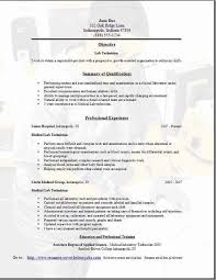 Lab Technician Resume Luxury Ophthalmic Technician Resume