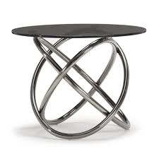 large size of houseology collection napa side table grey smoke glass top black round coffee with