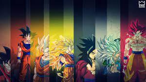 Goku - All SSJ - Wallpaper | Goku wallpaper, Dragon ball wallpapers, Dbz  wallpaper