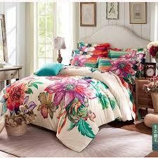 winter warm 100 sanded cotton bedding sets 4pcs bohemia boho duvet cover set bedclothes