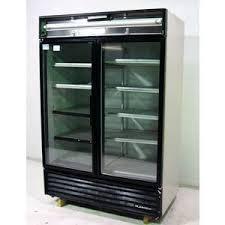 used true refrigerator. Modren Used Used True White Glass 2 Door Display Refrigerator Cooler Reach In  GDM49 T