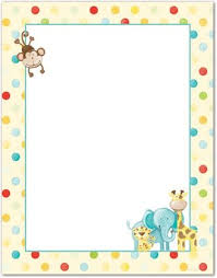 baby animal clipart borders. Beautiful Animal Baby Animal Clipart Borders  Clipartsgramcom To O