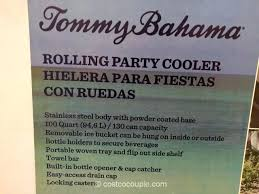 tommy bahama coolers on wheels patio cooler home design ideas and pictures tommy bahama wood rolling cooler costco
