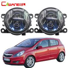 Us 227 50 Offcawanerl For Opel Corsa D Hatchback 2007 2015 100w H11 Car Light Halogen Bulb Fog Light Daytime Running Lamp Drl 12v Accessories In