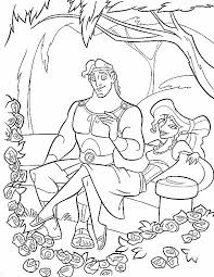 Small Picture Coloring Page Hercules coloring pages 10