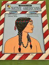 Book Units Teacher Native American Chart Tcm285 Thematic Unit Native Americans 1990 Pb Teacher
