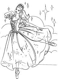 barbie swan lake coloring pages collection