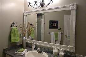 bathroom vanity mirrors. Bathroom Vanity With Custom Mirror Frame Contemporary Mirrors B