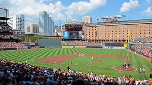 Seating Chart Camden Yards Baltimore Md Oriole Park At Camden Yards Wikipedia