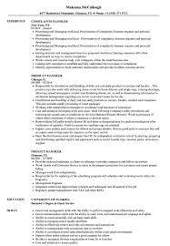 Handler Resume Samples Velvet Jobs