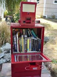 Used Newspaper Vending Machine Awesome Little Free Library 48 Flickr BoOKsTorES LiBRarIeS