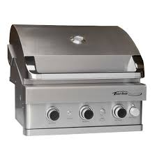 Bbq Galore Outdoor Kitchen Turbo Elite 3 Burner Built In Gas Grill Barbeques Galore