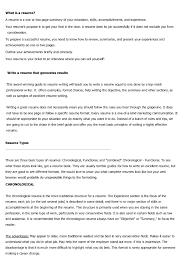 Types Of Resumes Formats It Resume Cover Letter Sample