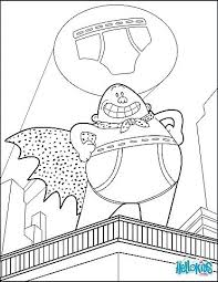 Captain Underpants Coloring Pages At Getcoloringscom Free