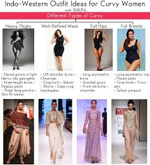 Types Of Design In Fashion What Type Of Indo Western Clothing Would Suit A Curvy Woman
