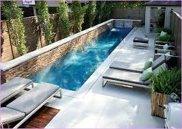 Small Pool Garden Charms With Its Trendy Contemporary Style Design Magnificent Small Pool Designs For Small Backyards Style